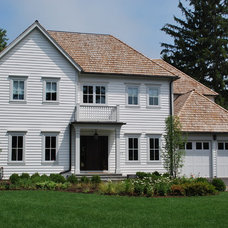 Traditional Exterior by Coda Design + Build