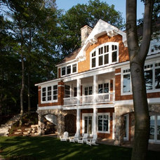 Traditional Exterior by Visbeen Architects