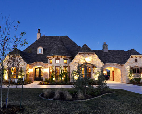 Mediterranean oklahoma city exterior home design ideas for House plans oklahoma city