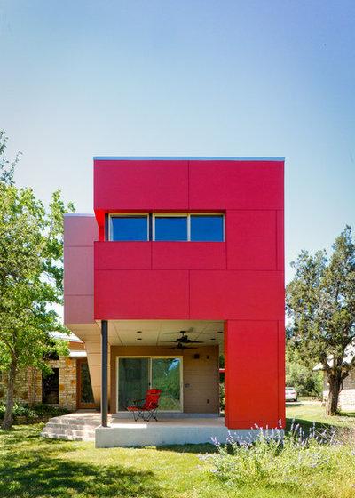Contemporáneo Fachada by A.GRUPPO Architects - Dallas