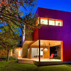 Modern Exterior by A.GRUPPO Architects - San Marcos