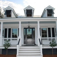 Traditional Exterior by Crosby Creations Drafting & Design Services, LLC