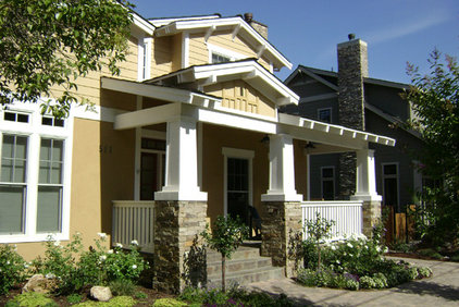 Craftsman Entry by Block 16 Architects