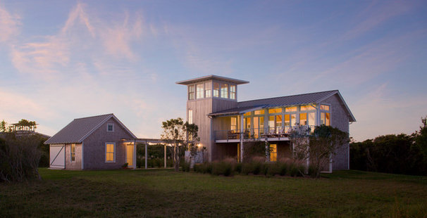 Contemporary Exterior by Estes/Twombly Architects, Inc.