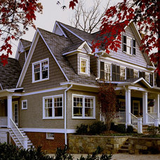 Traditional Exterior by The Block Builders Group