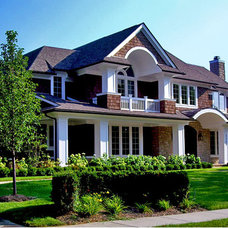 Contemporary Exterior by Hunter Roberts Homes