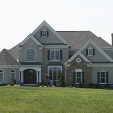 Traditional Exterior by J. Hall Homes, Inc.