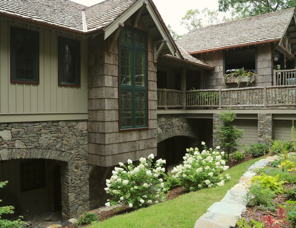 Traditional Exterior by Don Duffy Architecture