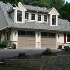 Traditional Exterior by Van Dame Custom Builders