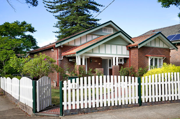 Traditional Exterior by Pilcher Residential
