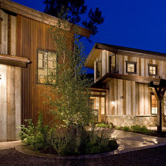 eclectic exterior by David Johnston Architects