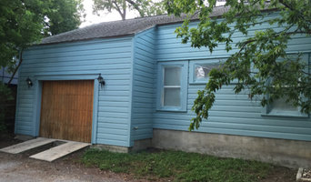 Blue Home Before & After