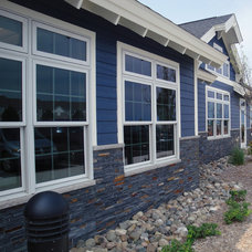 Traditional Exterior by Realstone Systems