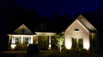 Bluffton outdoor lighting