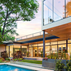 Contemporary Exterior by water structures/ bryan weber