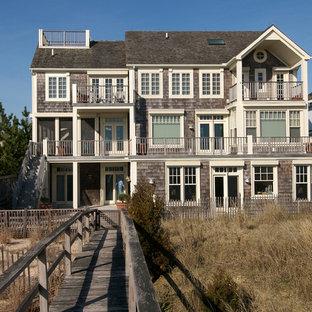 Cedar Shingle Beach House   Houzz on