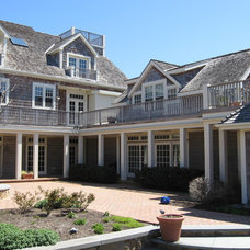 Beach Style Exterior by Boardwalk Builders