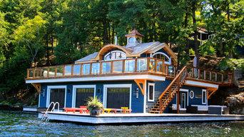 Boathouse, Port Carling, Ontario,Canada