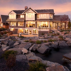 Traditional Exterior by Crystal Creek Homes
