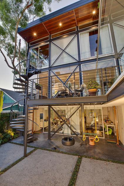 Contemporary Exterior Boiler Residence