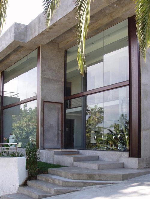 Concrete Finish Walls Houzz