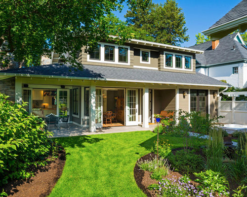 Superior Example Of A Classic Wood Exterior Home Design In Other Part 24