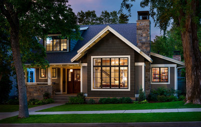 Houzz Tour: Embracing Old and New in a Montana Bungalow