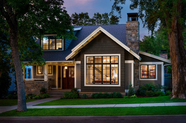 Traditional Exterior by Locati Architects