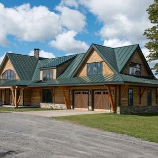Timber Frame Vermont Farm House