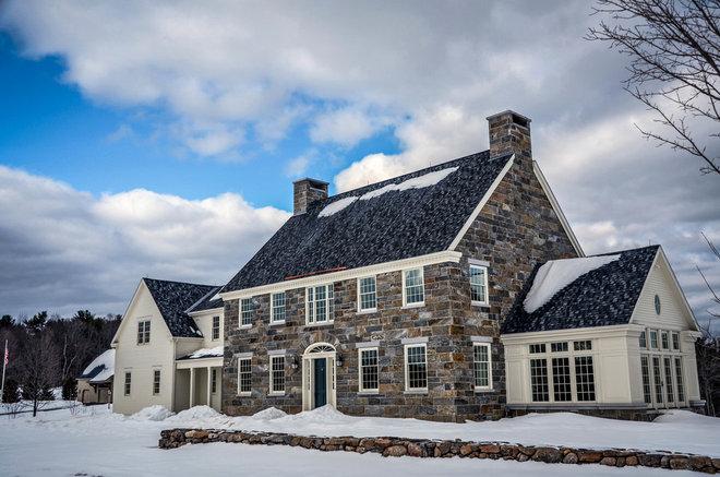 Traditional Exterior by Bonin Architects &  Associates