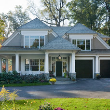 Traditional Exterior by Studio Z Design Concepts