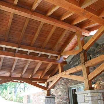 Booth Lake Portico & Exterior Remodel
