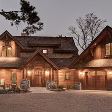 Traditional Exterior by Lands End Development - Designers & Builders
