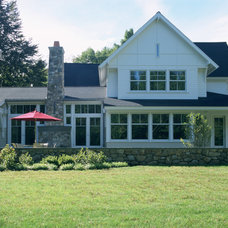 Traditional Exterior by Eck | MacNeely Architects inc.
