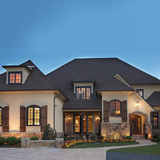 Traditional Exterior by Claude C. Lapp Architects, LLC