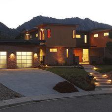Modern Exterior by Cheri Belz, Architect