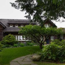 Traditional Exterior by John McSkimming Construction Ltd