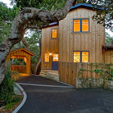 Eclectic Exterior by McNamee Construction