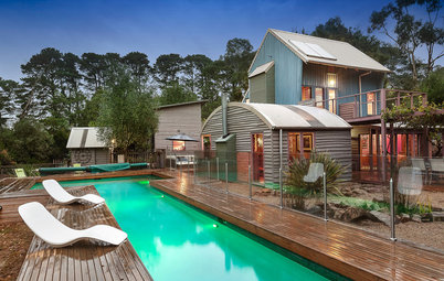 Houzz Tour: A New Take on the Aussie Tin Shed