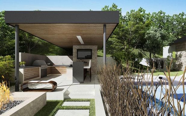 Modern Häuser by Bowery Design Group
