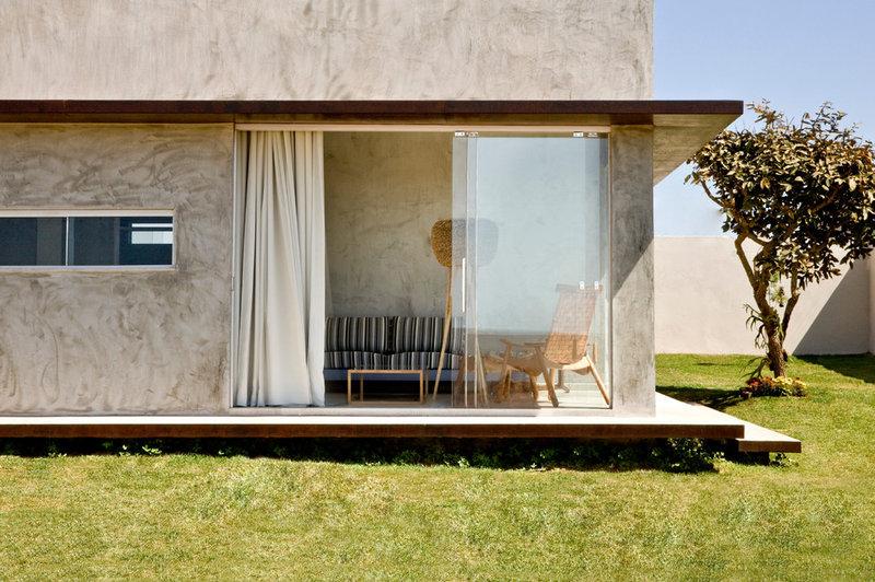 Загородный дом в современном стиле / dvorika.net