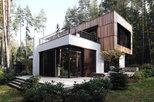 Box house - современный дом в стиле лофт