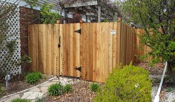 Brady's Fence - Wood Fence Project