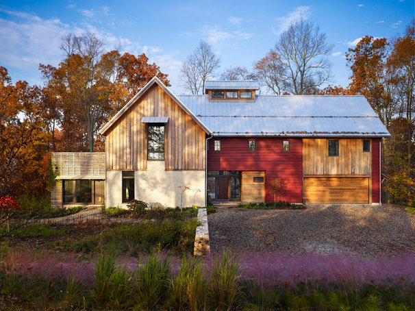 Farmhouse Exterior by Moger Mehrhof Architects