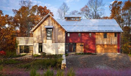 Houzz Tour: Ett energismart hem i samklang med naturen
