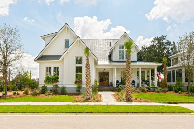 Beach Style Exterior by Lowcountry Premier Custom Homes