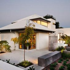 Contemporary Exterior by Cambuild
