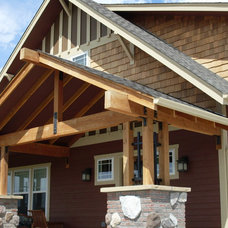Traditional Exterior by Jamestown Builders