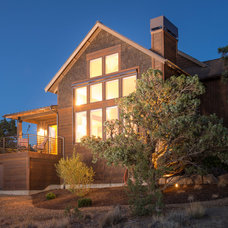 Rustic Exterior by Western Design International