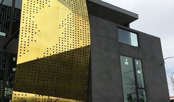 Brass & Steel Sculptural Facade